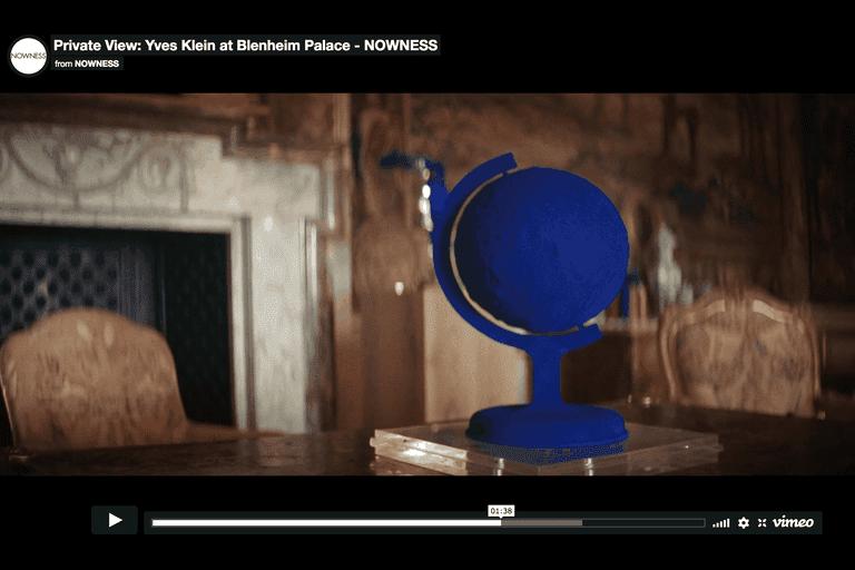 Screenshot showing Vimeo video playing.