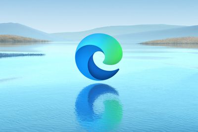 New Microsoft Edge browser logo