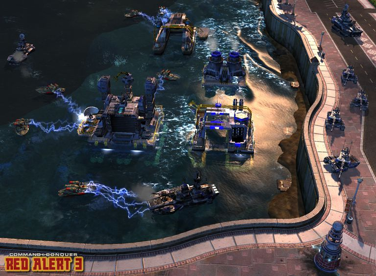 Command and Conquer Red Alert 3 Screenshot