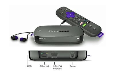 Roku Ultra Front and Rear View