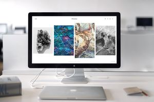 The Apple iMac on a desk