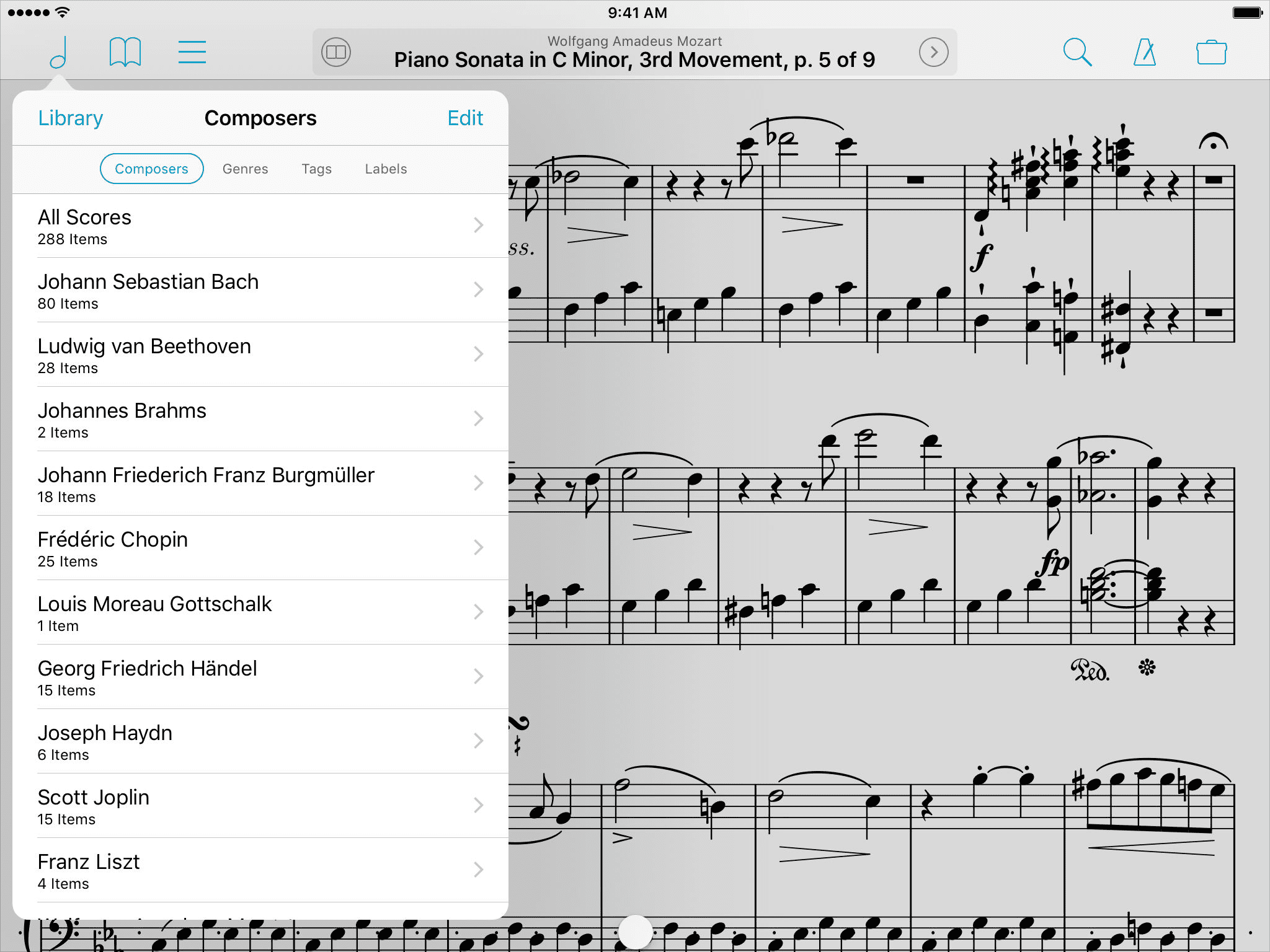 The Best Sheet Music, Notation and Tab Readers for the iPad