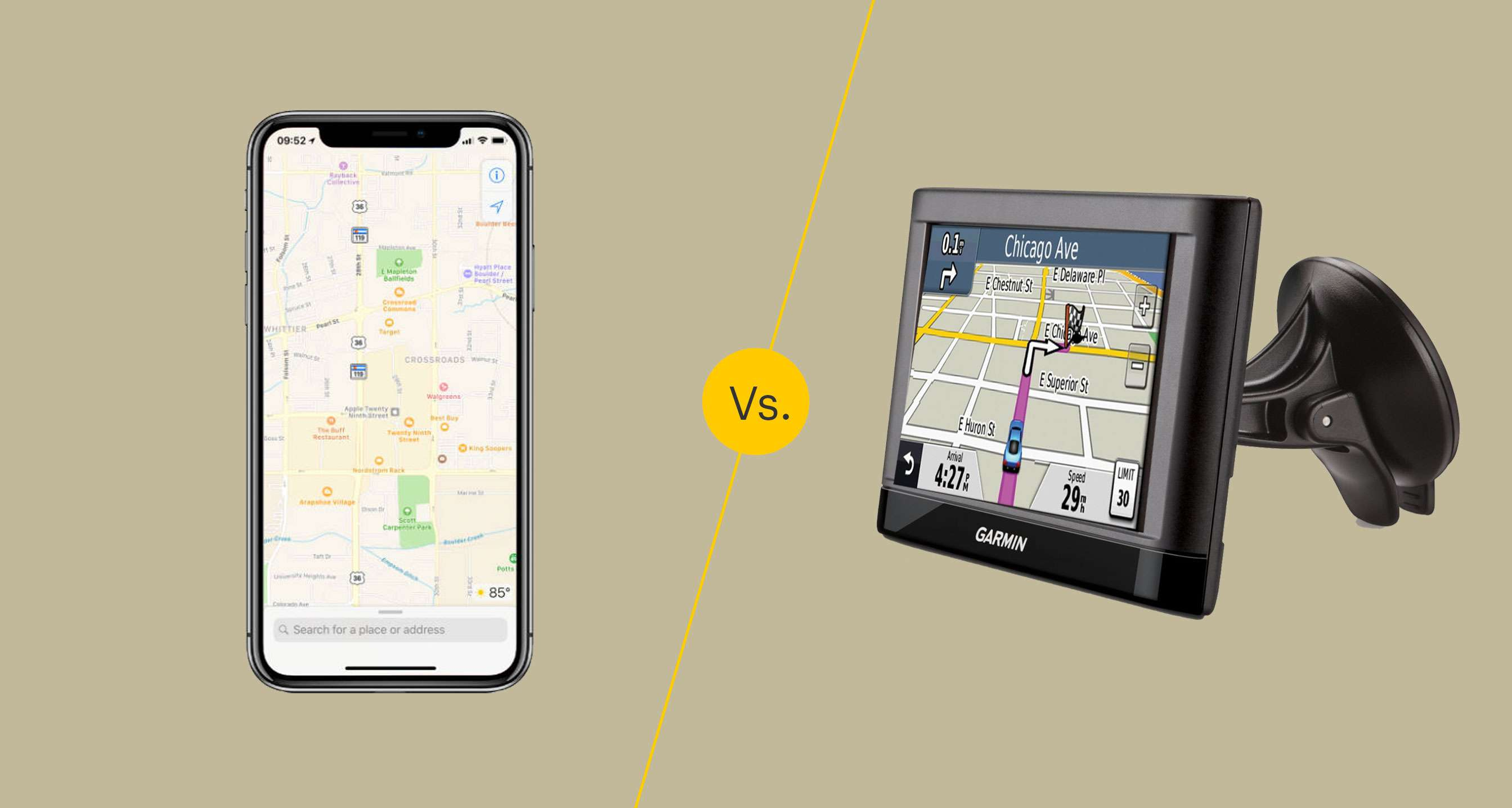 GPS apps vs GPS devices