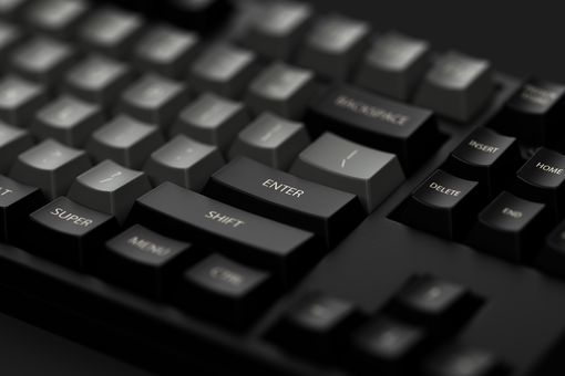 Enter Key of Dolch Mechanical Keyboard.