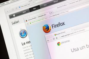 Firefox and Safari browsers on OS X