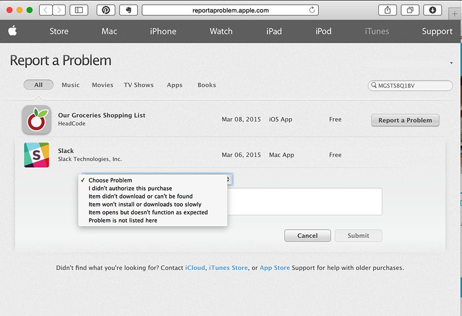 How to Get Help for Purchase Problems at iTunes