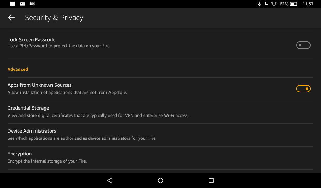 google services framework apk for amazon fire