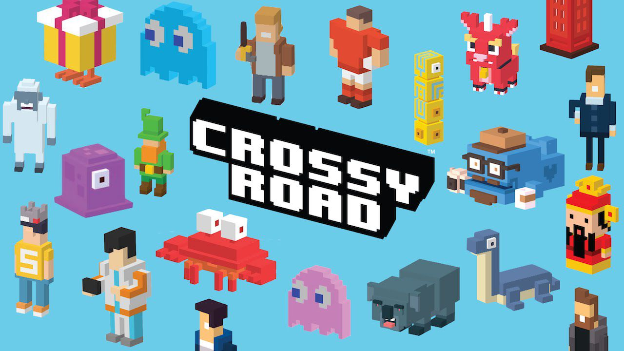 Screenshot of Crossy Road