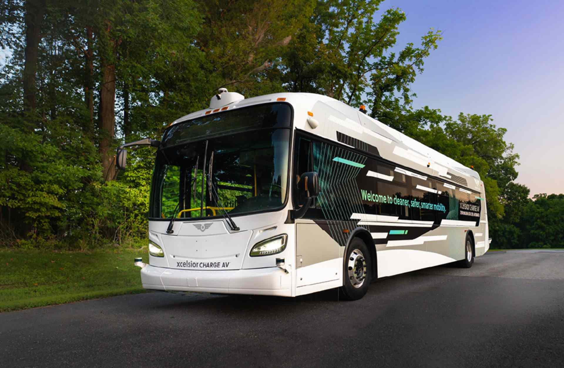 Xcelsior AV bus