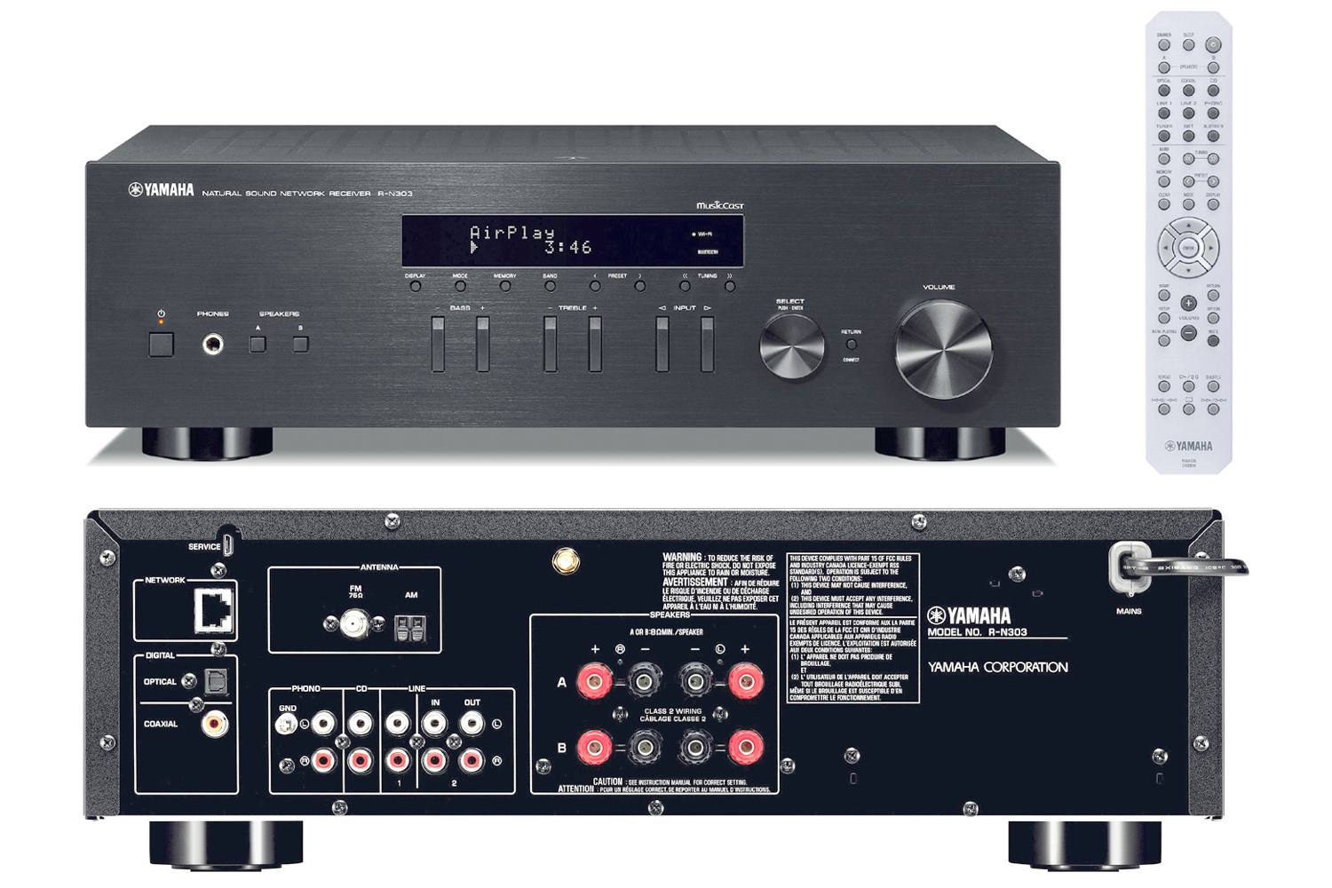 the best two channel stereo receivers of 2019. Black Bedroom Furniture Sets. Home Design Ideas