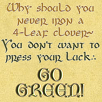 Uncial Fonts for St. Patrick's Day