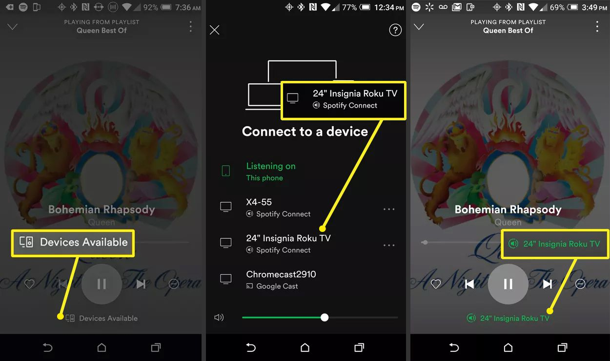 Spotify Connect with Smartphone – Choosing a Device