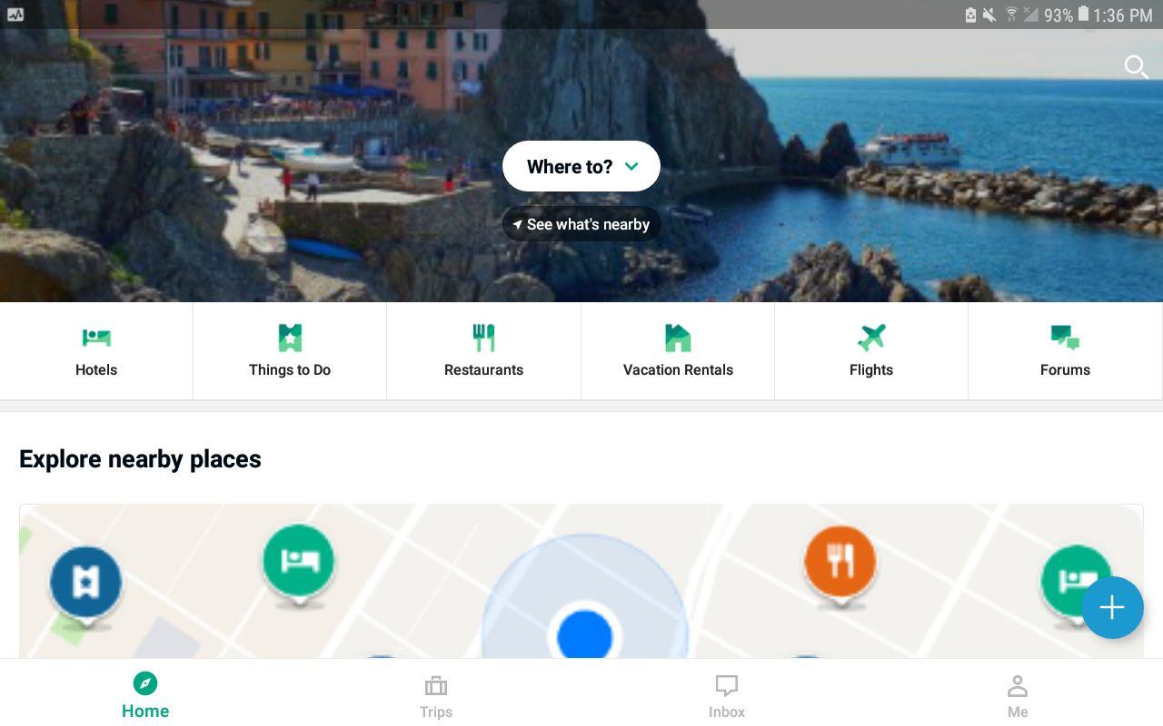 TripAdvisor app for Android