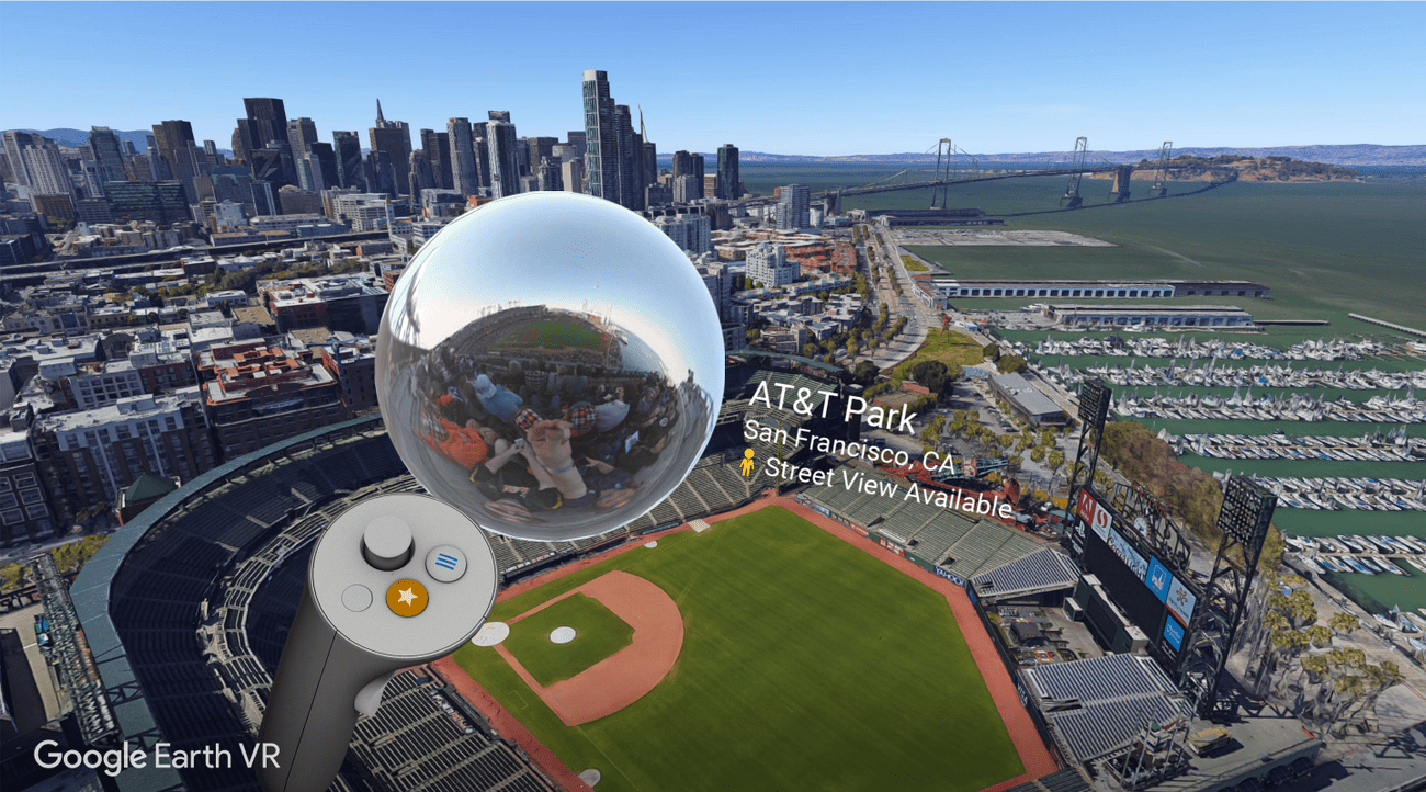 Google Earth VR is a great way to explore new places.