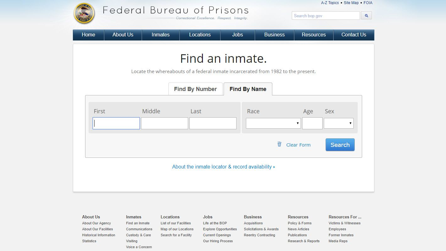 California Jail and Inmate Records Search Directory