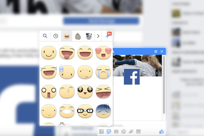 adding emoji to status updates and comments