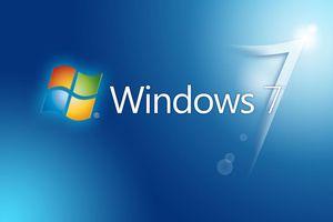 Windows 7 main logo with Windows icon