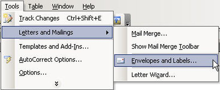 Create and customize envelopes in microsoft word spiritdancerdesigns Gallery