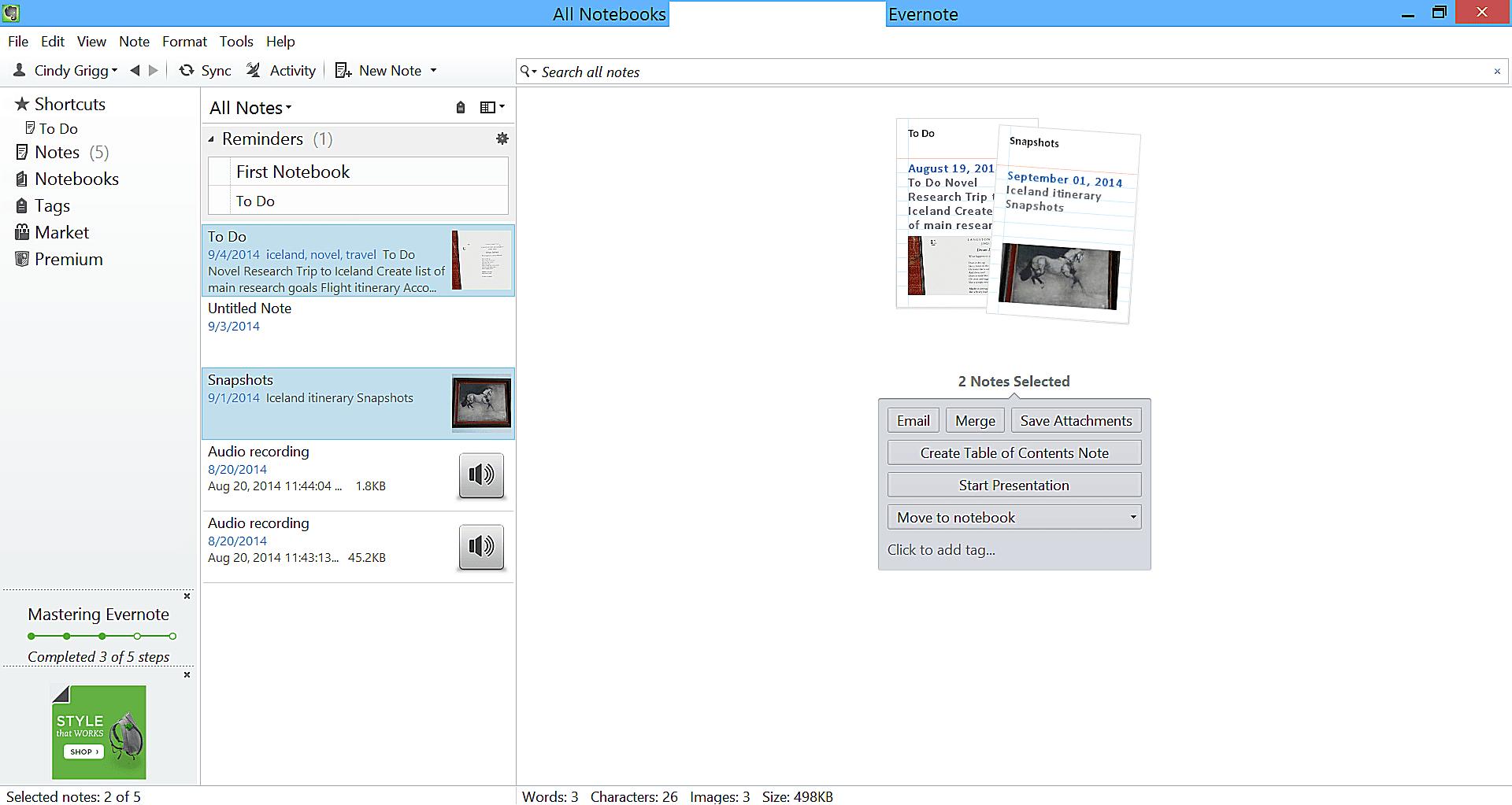 annotate pdf evernote
