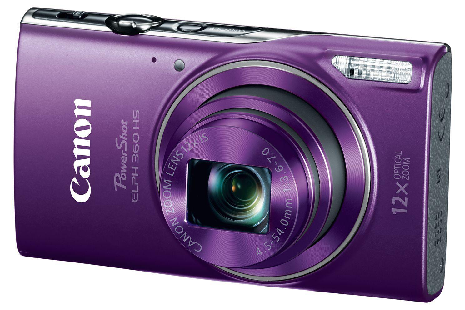 Canon PowerShot ELPH 360 Review