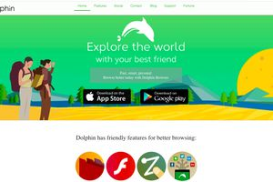Dolphin web browser from Mobotap