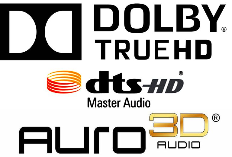 Surround Sound Format Logos