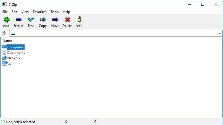 A Review Of 7 Zip A Free File Extractor Program