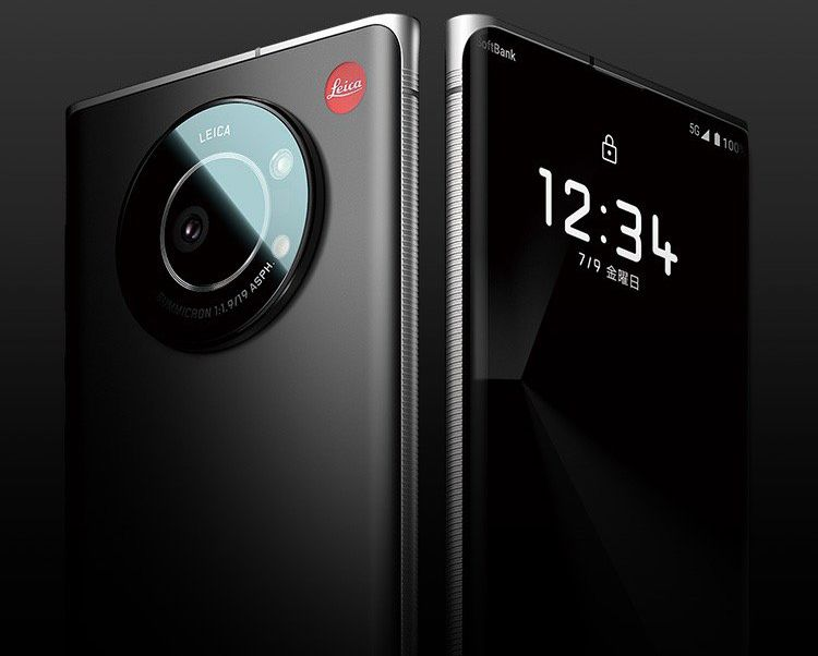 Leica's Leitz 1 phone, front and back