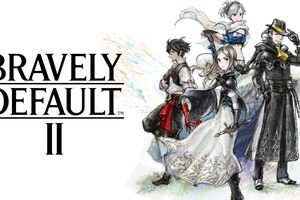 Cover art for the Bravely Defualt II game.