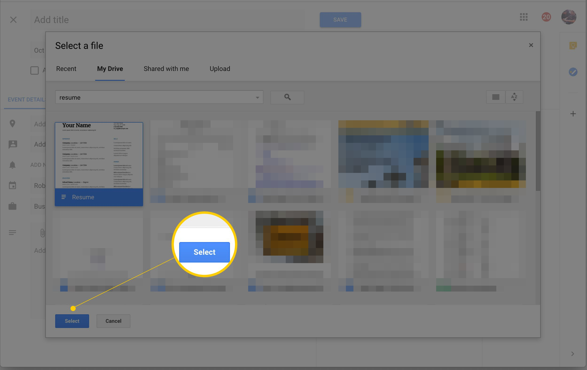 Link Google Docs Files And Google Calendar Events