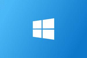 Horizontal Windows Logo
