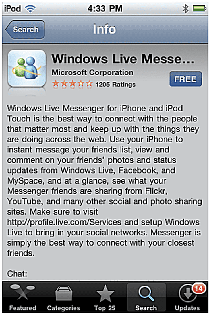 How To Download Windows Live Messenger For Iphone