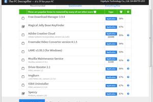 PC Decrapifier v3.0.0 in Windows 7