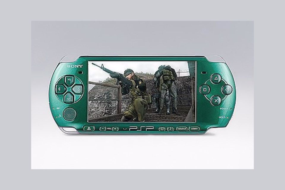 PSP-3000 hardware