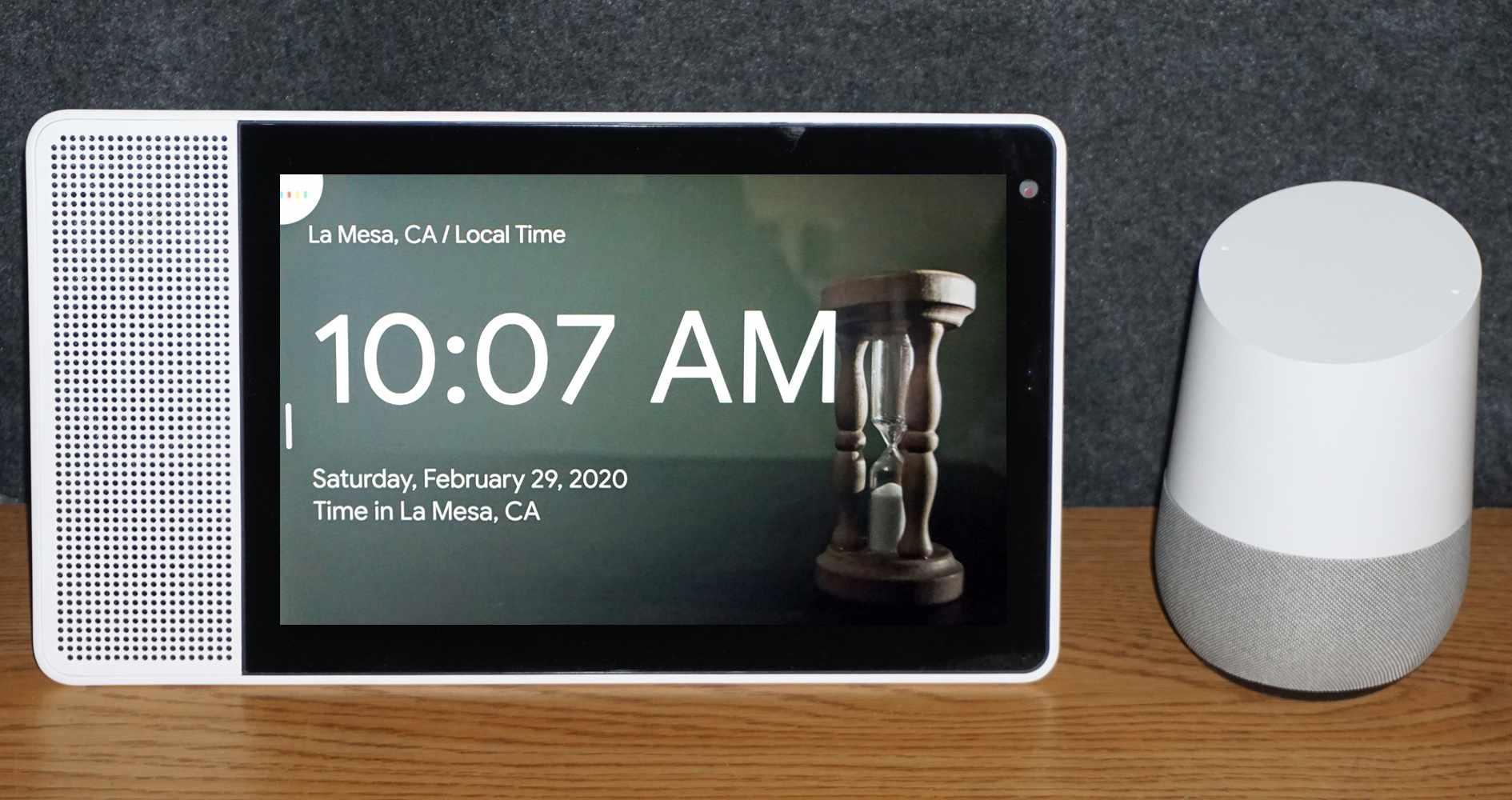 Lenovo Smart Display and Google Home