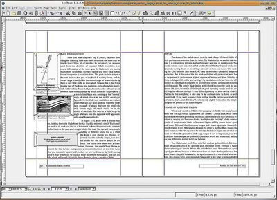Tutorials for Scribus Desktop Publishing Software