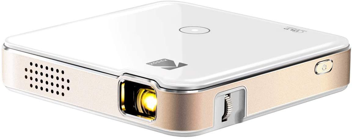 The Kodak Luma 150 projector is a highly-portable projector.