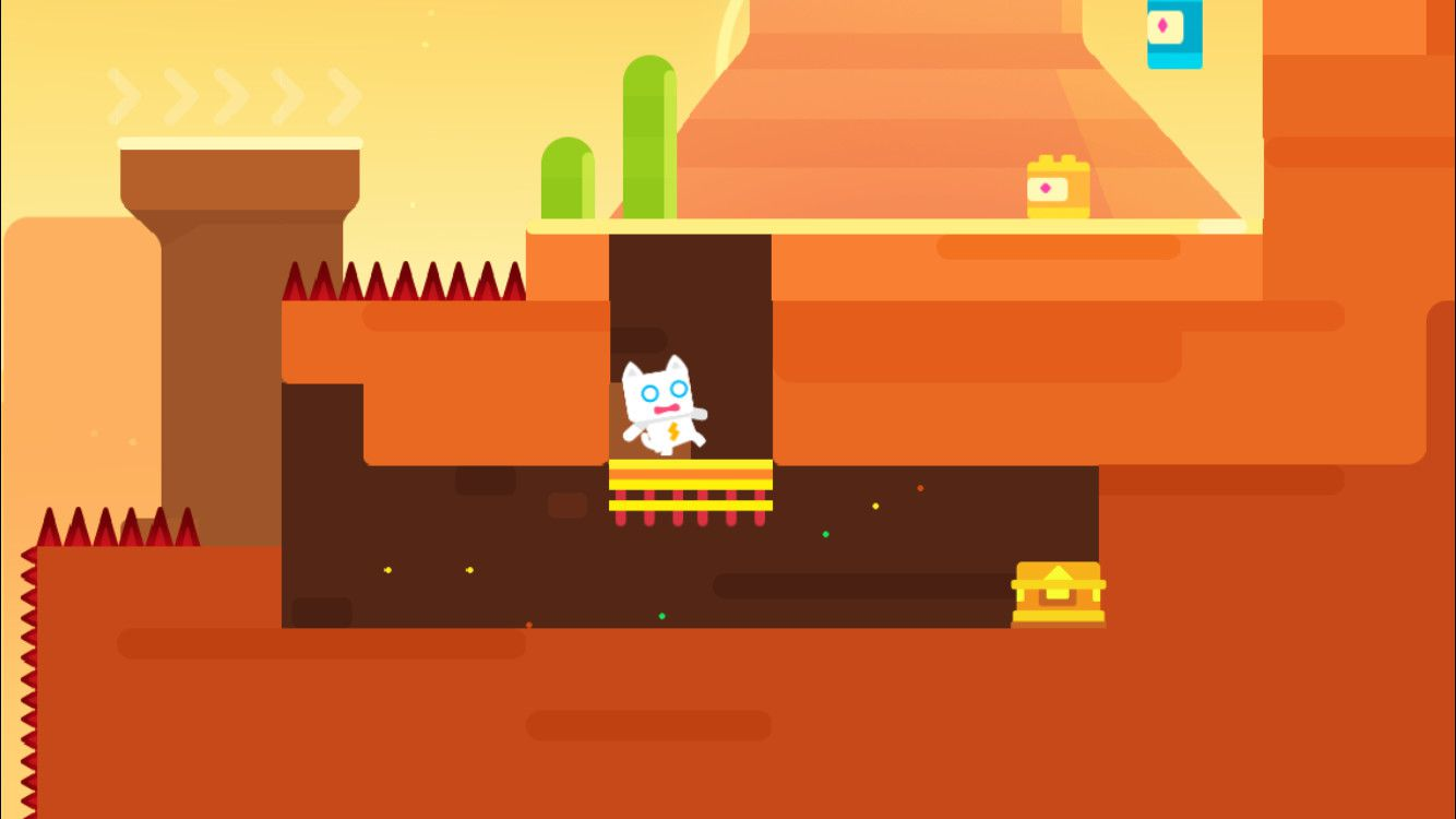 Screenshot of Super Phantom Cat