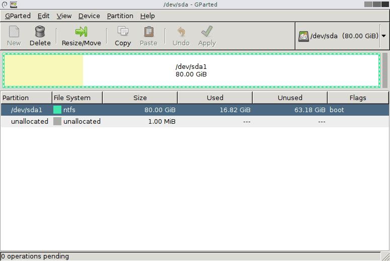 GParted v0.23.0