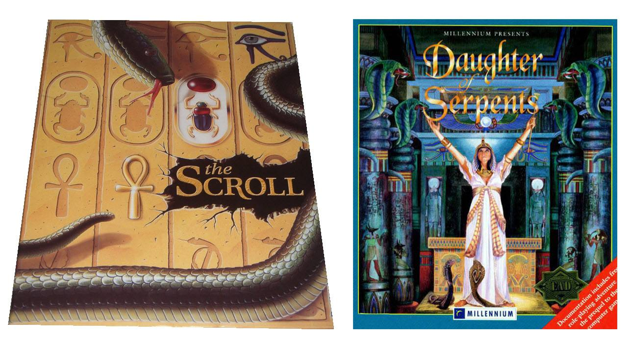 The Scroll & Daughters of Serpents Box Art