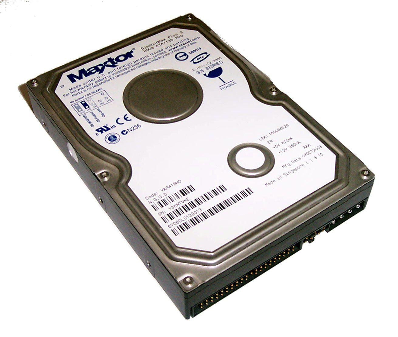 Review Maxtor Diamondmax Plus 9 160gb Sata Hard Drive Harddisk Pc 160 Gb Ide Hdd Komputer Desktop