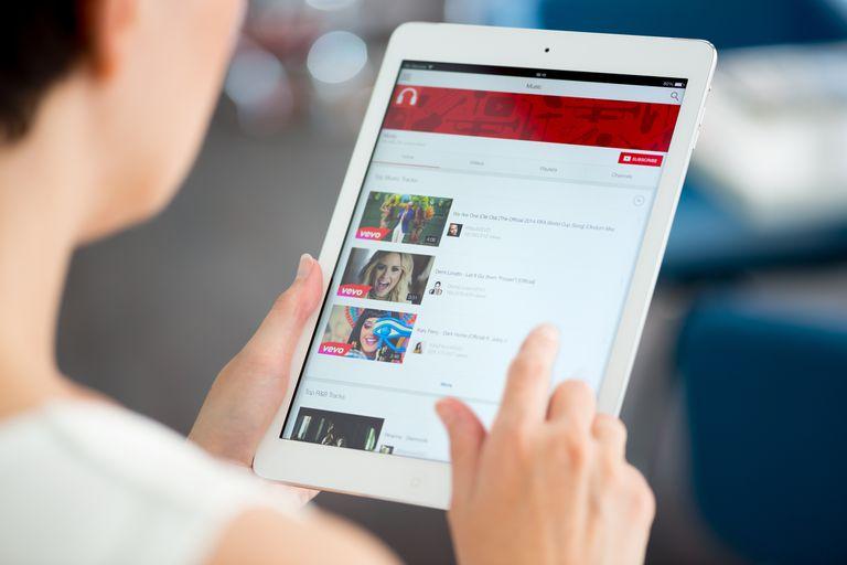 YouTube playlist on Apple iPad
