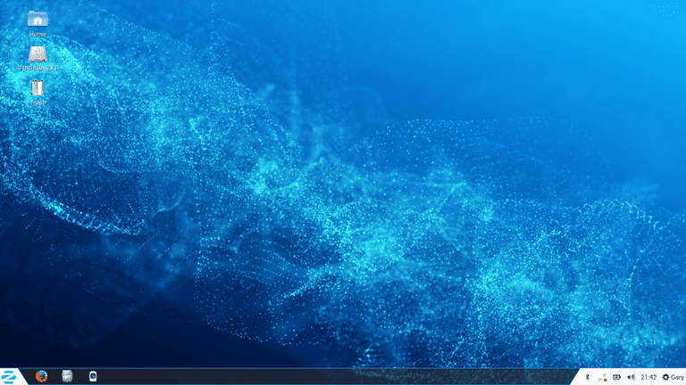 Zorin OS Desktop screenshot