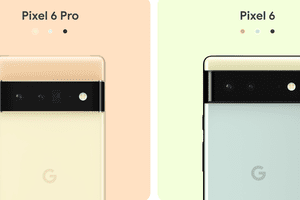 Google Pixel 6 and 6 Pro in multiple colors