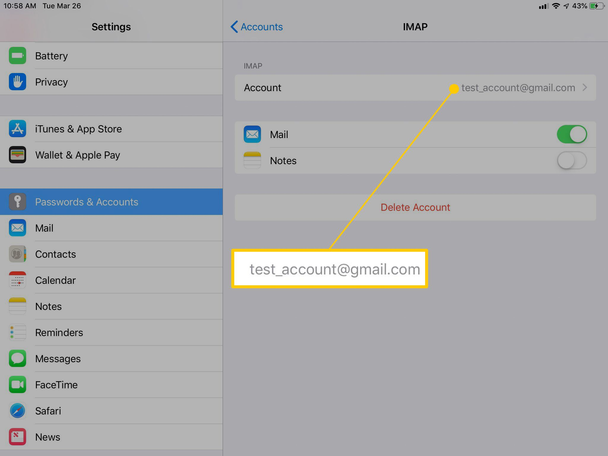 How to Use a Gmail Alias With iOS Mail