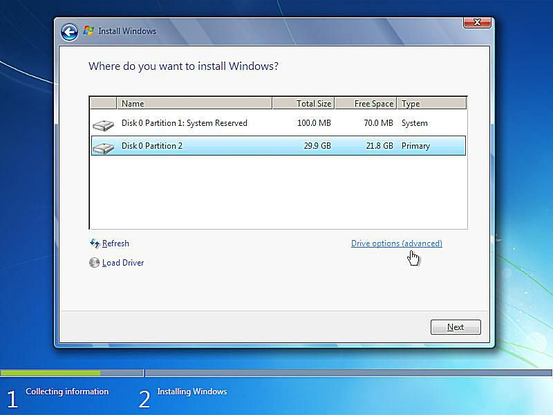 install windows 7 with product key but no disc