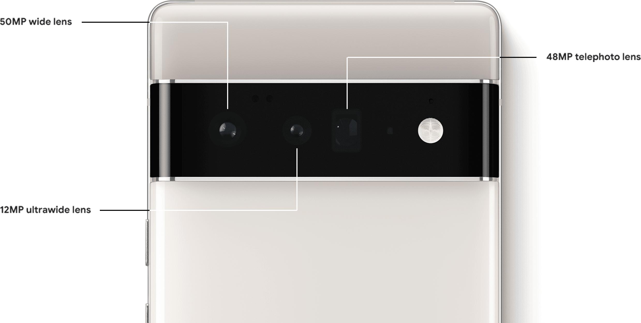Pixel 6 Pro cameras