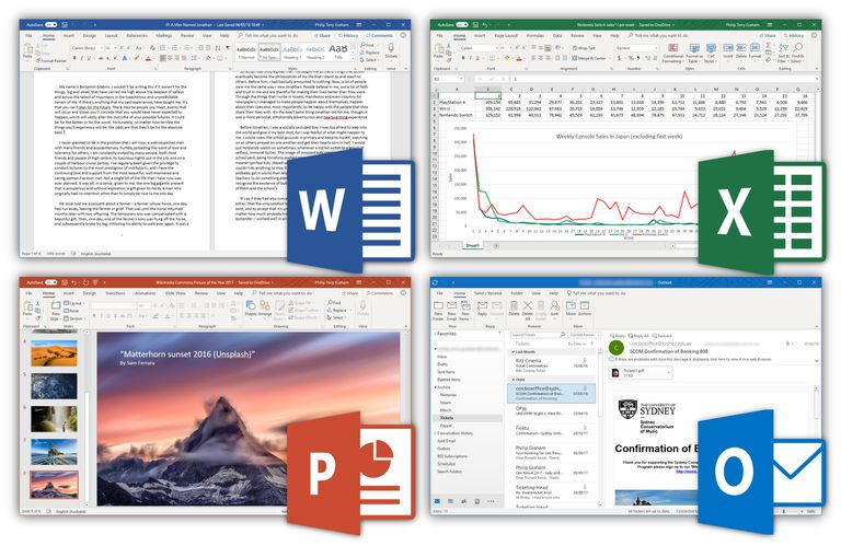 Microsoft Office Suite screenshot