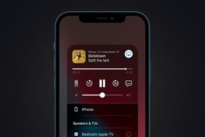 Apple Airplay on iPhone