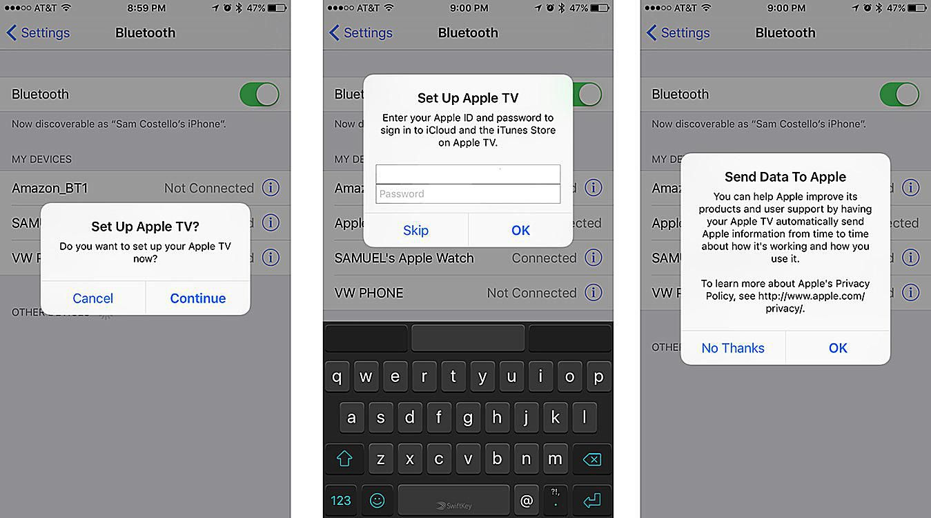 How to Set Up the Apple TV With Your iPhone